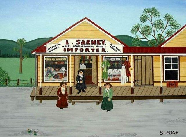Old Waipu Series - Sarney's Sold