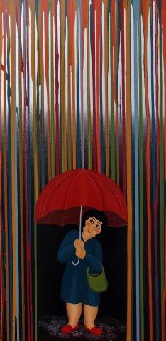 Silver Downpour - Sold -
