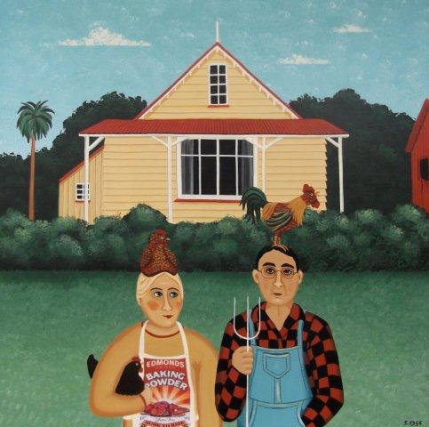 Kiwi Gothic - Sold