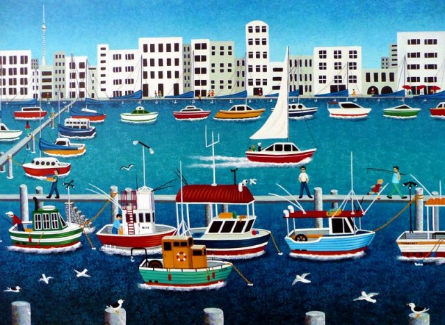 Old Fishing Boats - Sold