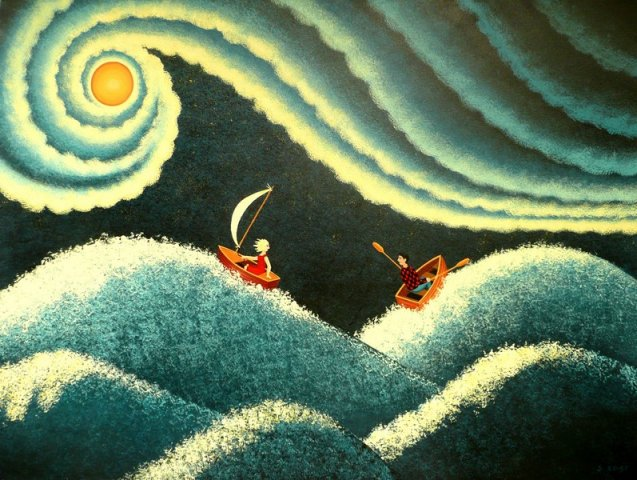 Ships in the Night Sold