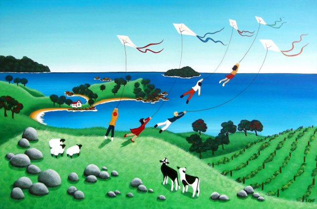 Kites at Stony Batter - Sold
