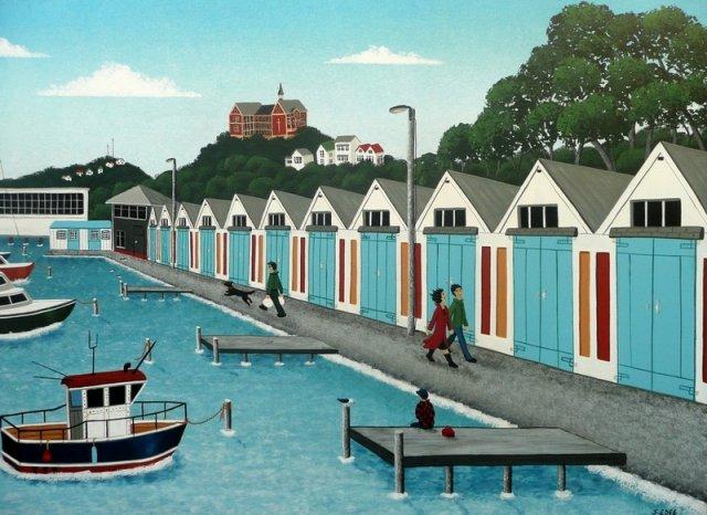 Oriental Bay Boat Sheds For Sale
