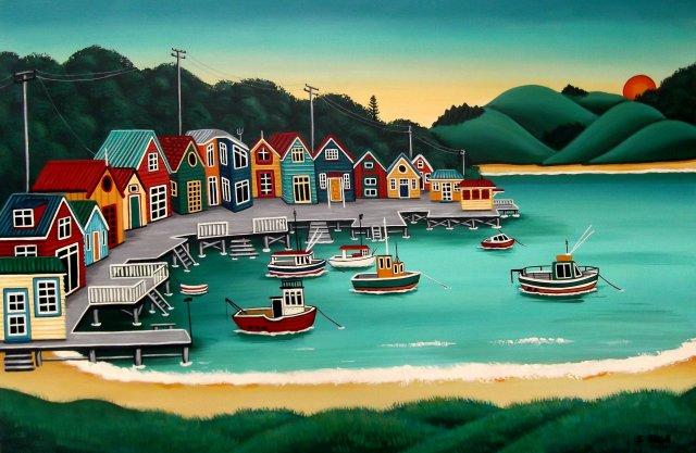 Morning Boatsheds - Sold