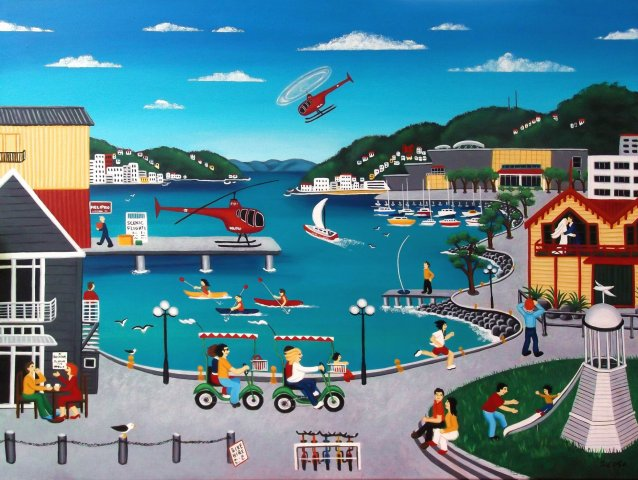 Wellington Waterfront - Sold