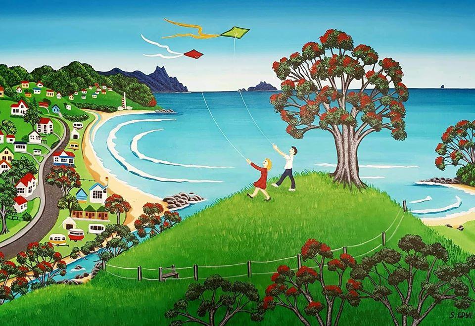 Kites at the Cove