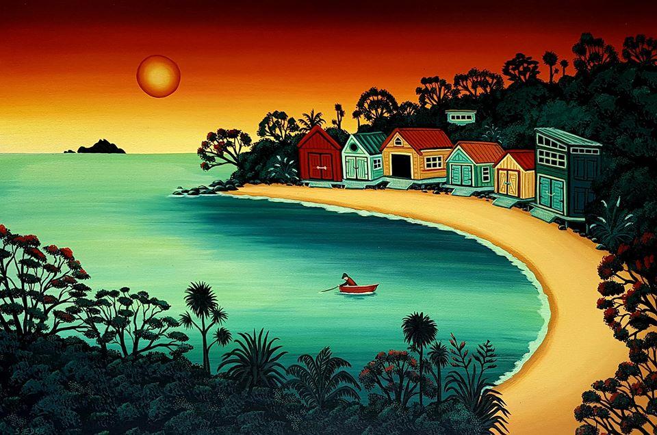 Langs Beach Boatsheds