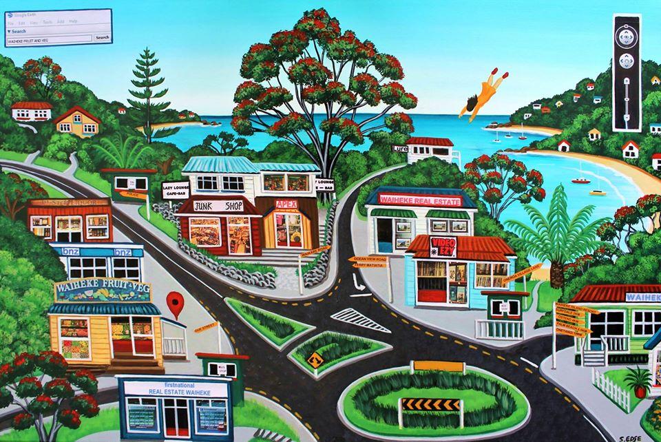 Street View Oneroa