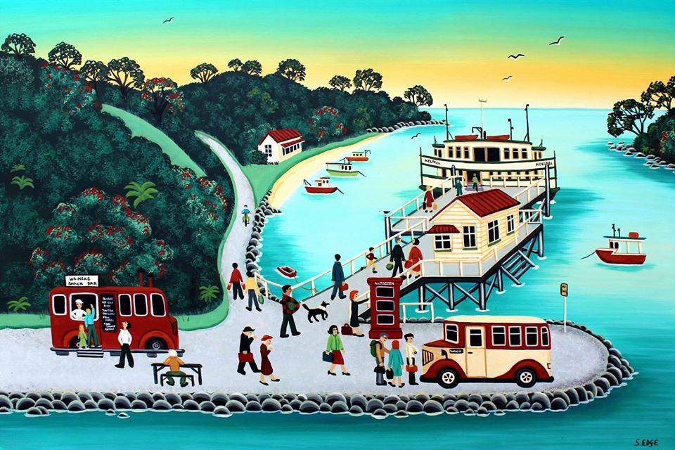 Old Matiatia Wharf